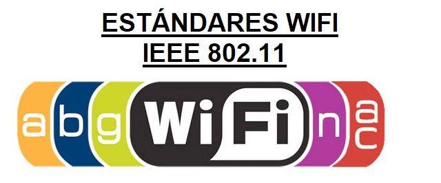 estandares wifi