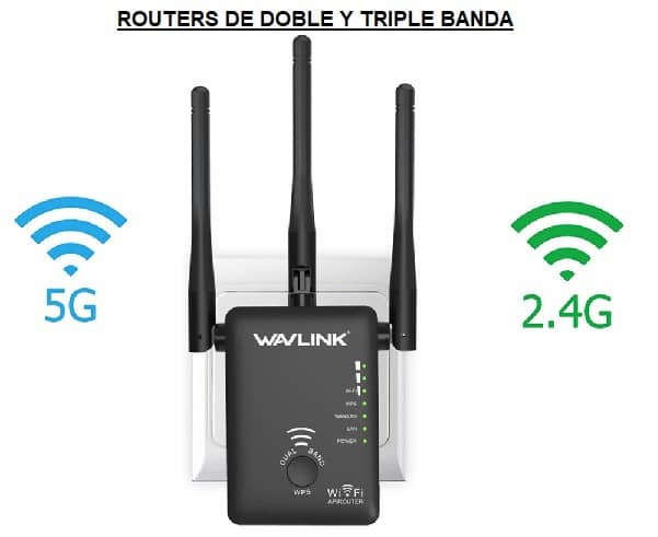 routers doble banda y triple banda
